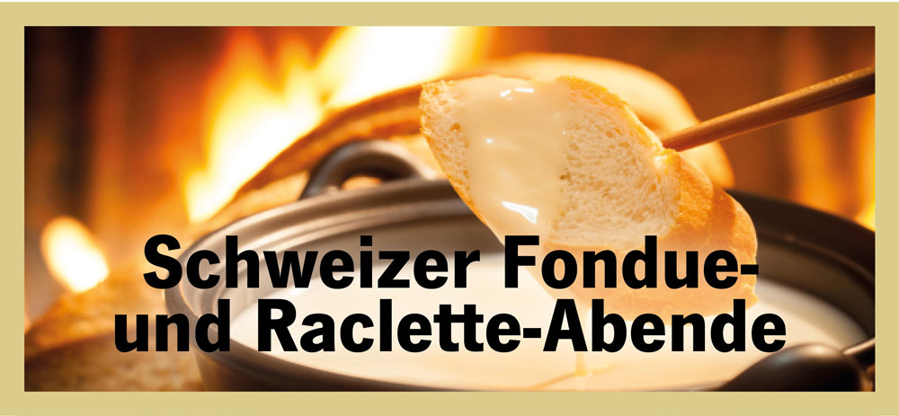 schweizer fondue und raclette. Black Bedroom Furniture Sets. Home Design Ideas