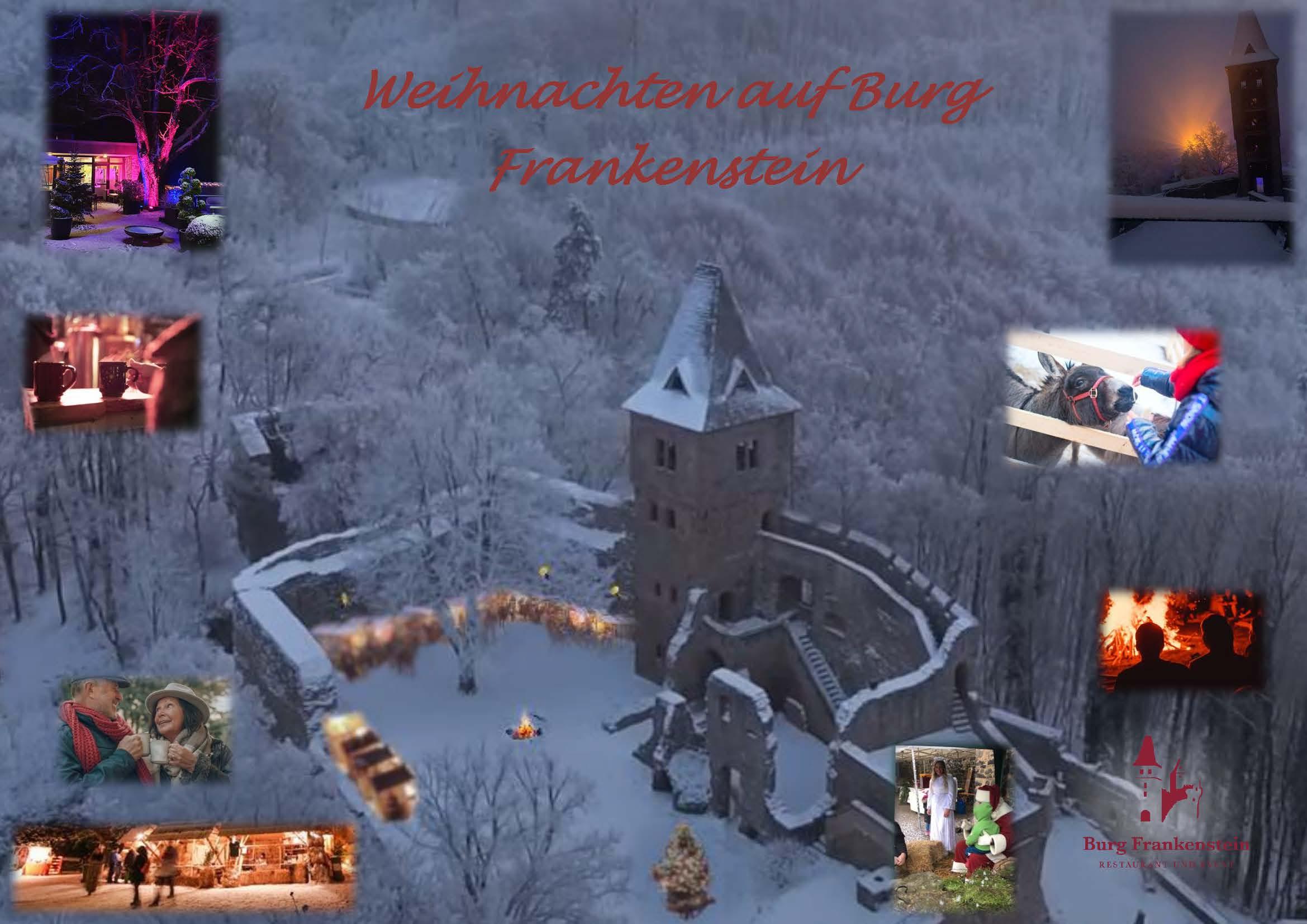 Winterzauber auf der Burg Frankenstein