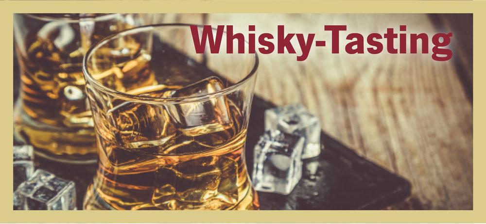 Whisky-Tasting, 20.01.2018