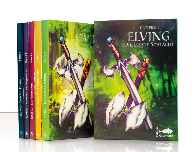 Tino Filippi präsentiert seine Fantasybuchreihe